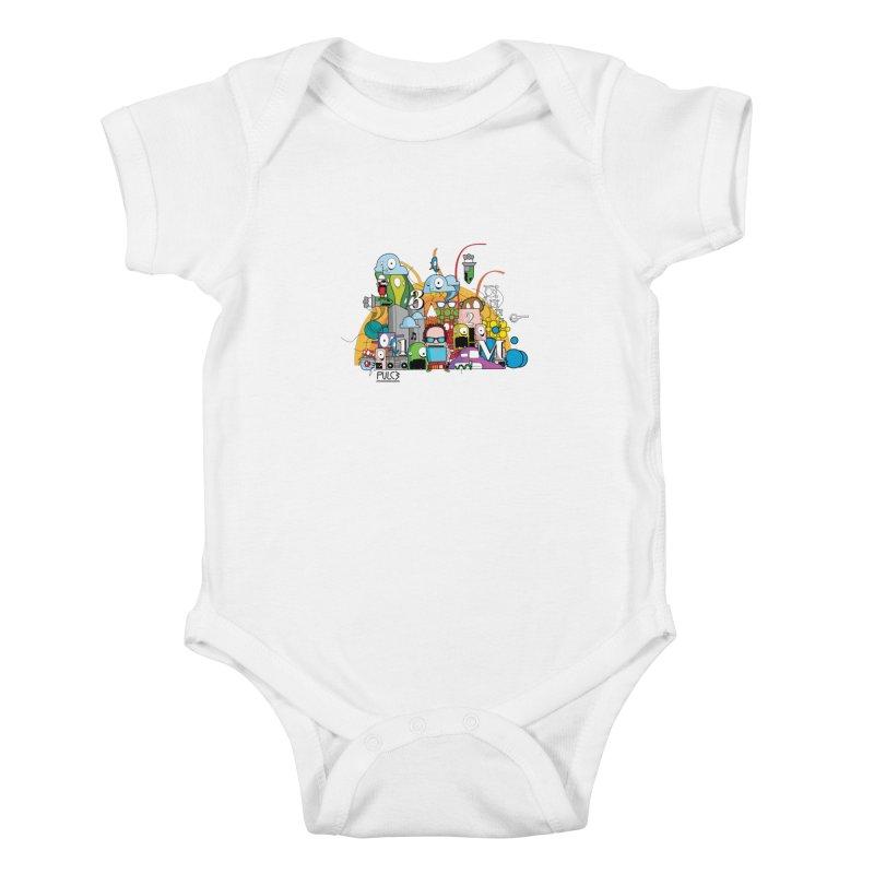 Pazziaaa Kids Baby Bodysuit by pulce's Artist Shop