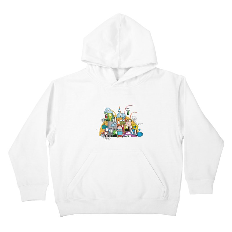 Pazziaaa Kids Pullover Hoody by pulce's Artist Shop