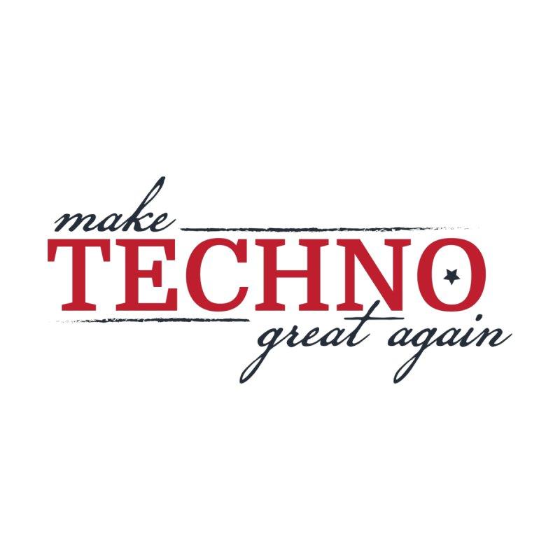 Make Techno Great Again Men's T-Shirt by pulsarnectar's Artist Shop
