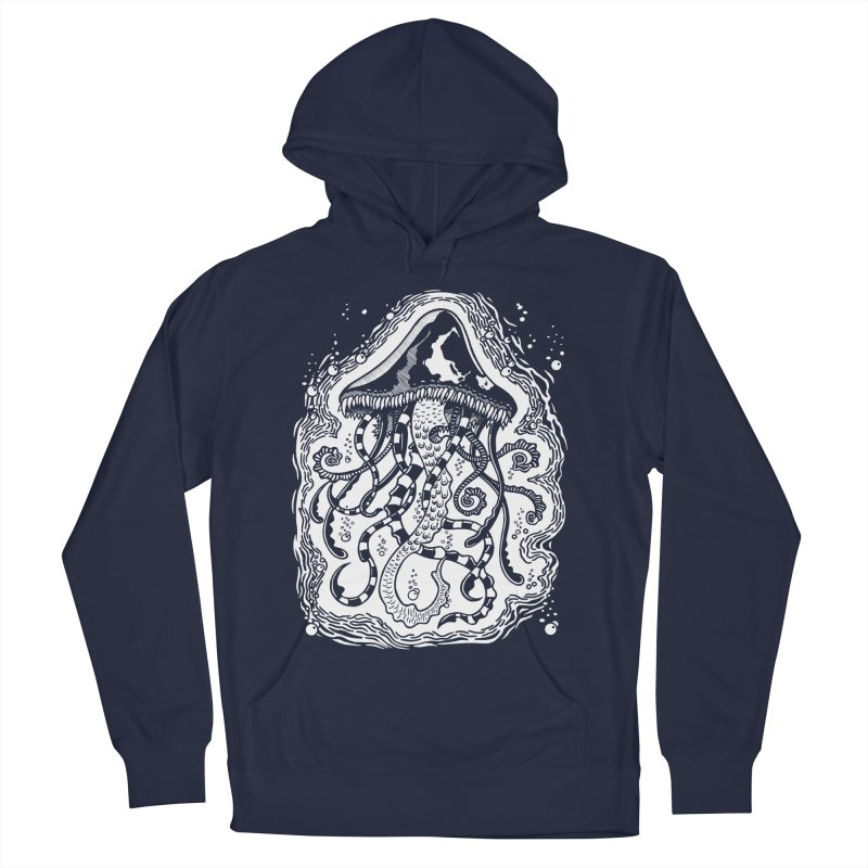 Venom Jellyfish Men's Pullover Hoody by punchofpaint's Artist Shop