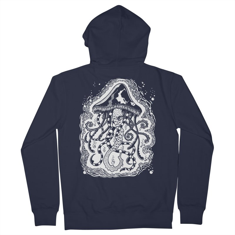 Venom Jellyfish Men's Zip-Up Hoody by punchofpaint's Artist Shop