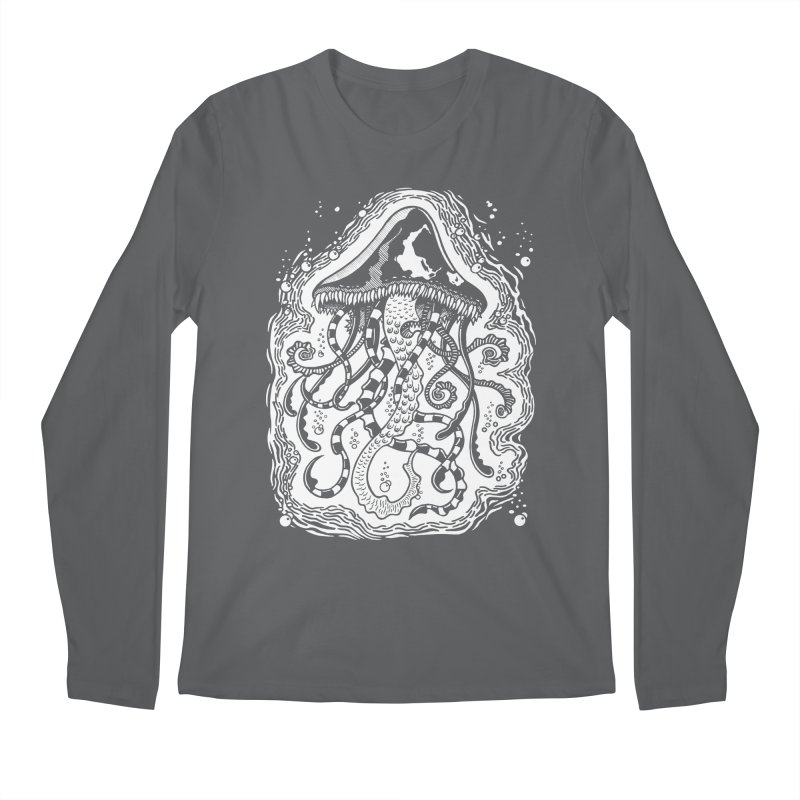 Venom Jellyfish Men's Longsleeve T-Shirt by punchofpaint's Artist Shop