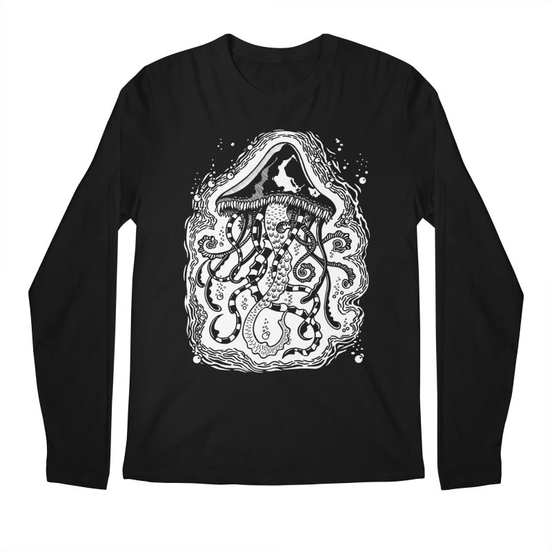Venom Jellyfish Men's Longsleeve T-Shirt by punchofpaint's Artist Shop