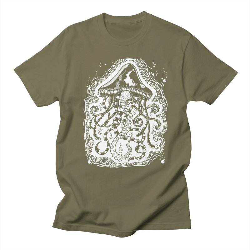 Venom Jellyfish Men's T-shirt by punchofpaint's Artist Shop