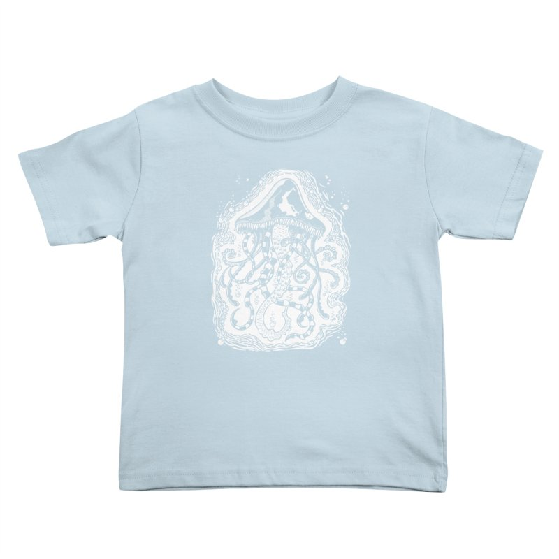 Venom Jellyfish Kids Toddler T-Shirt by punchofpaint's Artist Shop