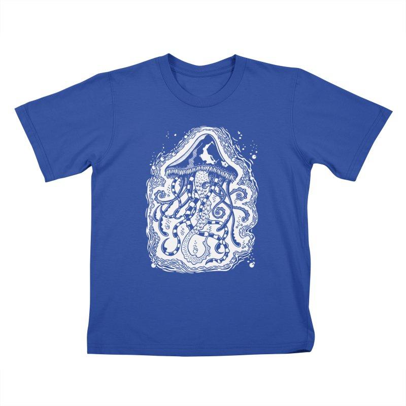 Venom Jellyfish Kids T-shirt by punchofpaint's Artist Shop