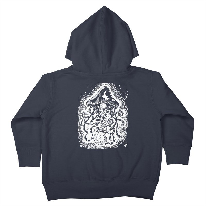Venom Jellyfish Kids Toddler Zip-Up Hoody by punchofpaint's Artist Shop