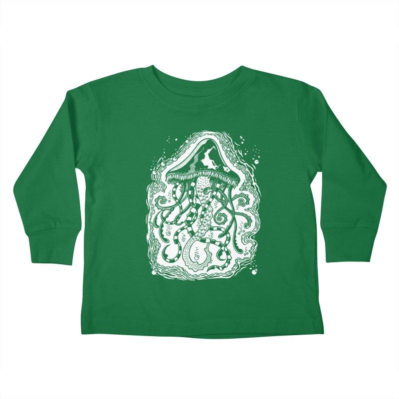 Venom Jellyfish Kids Toddler Longsleeve T-Shirt by punchofpaint's Artist Shop
