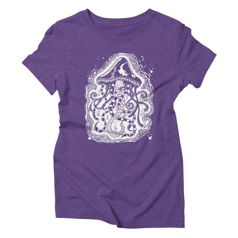 Venom Jellyfish Women's Triblend T-Shirt by punchofpaint's Artist Shop