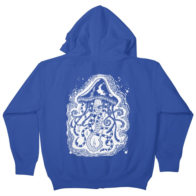 Venom Jellyfish Kids Zip-Up Hoody by punchofpaint's Artist Shop