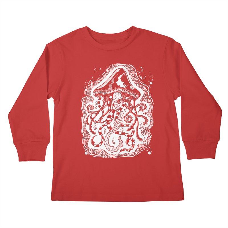Venom Jellyfish Kids Longsleeve T-Shirt by punchofpaint's Artist Shop