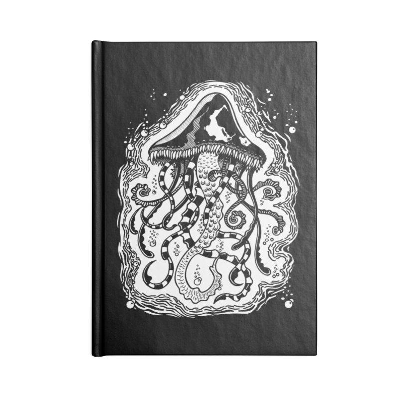 Venom Jellyfish Accessories Notebook by punchofpaint's Artist Shop