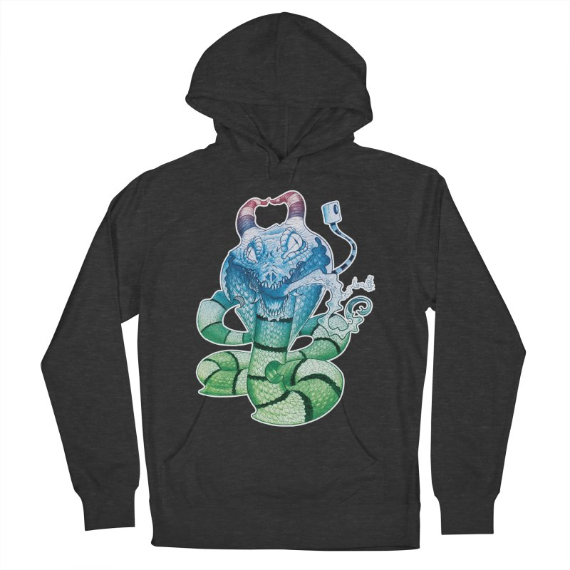 Demon Snake Women's Pullover Hoody by punchofpaint's Artist Shop