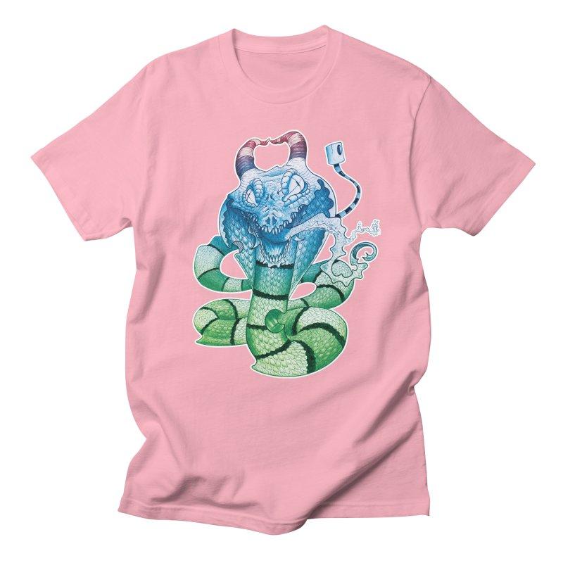Demon Snake Men's T-Shirt by punchofpaint's Artist Shop