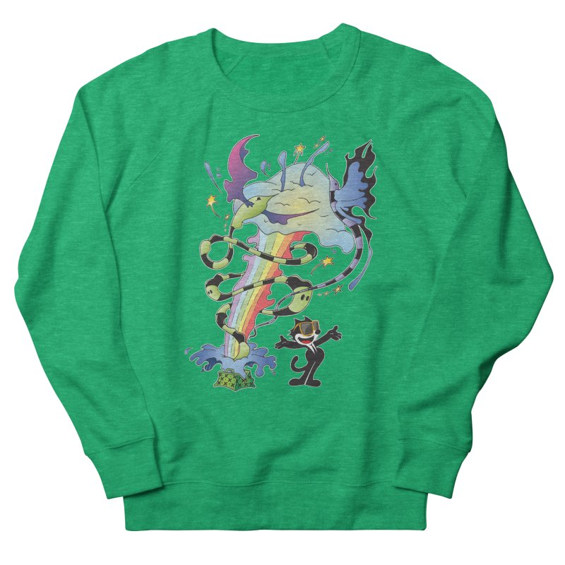 Little Green Bag Women's Sweatshirt by punchofpaint's Artist Shop