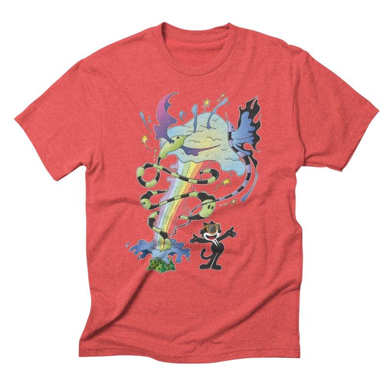 Little Green Bag Men's Triblend T-Shirt by punchofpaint's Artist Shop