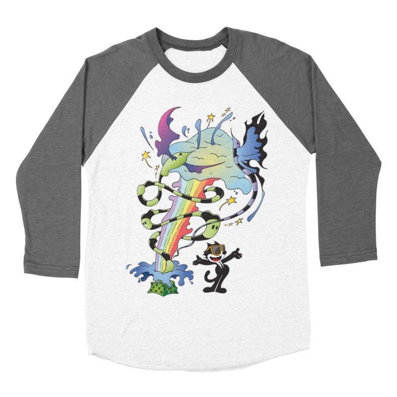 Little Green Bag Women's Baseball Triblend T-Shirt by punchofpaint's Artist Shop