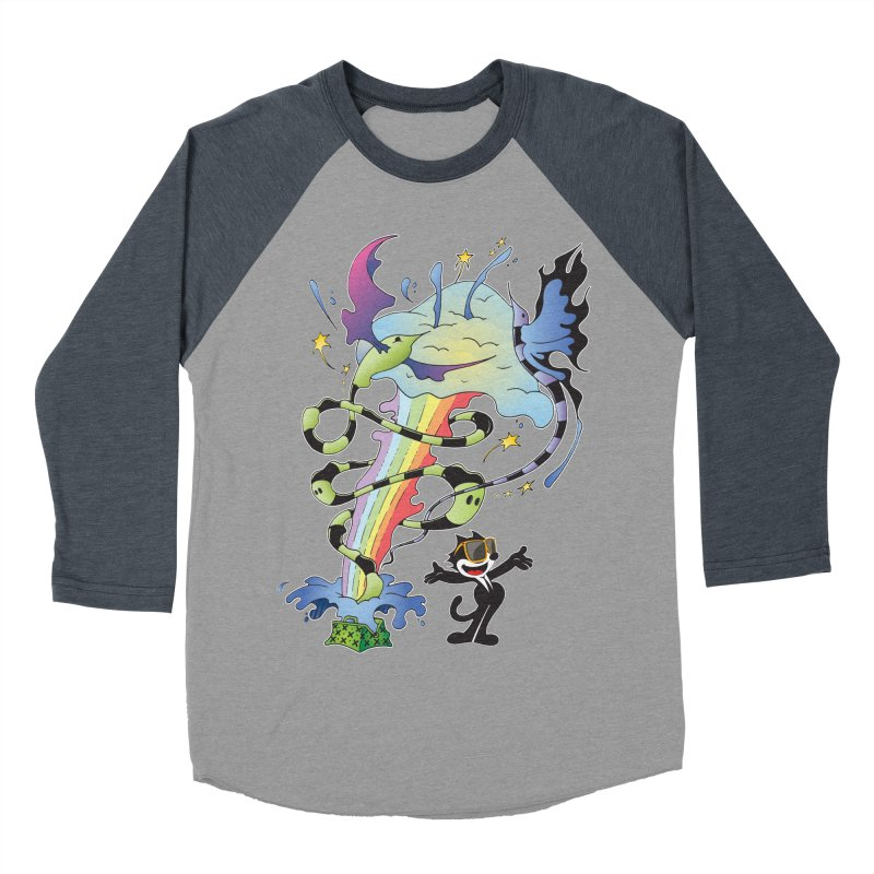 Little Green Bag Men's Baseball Triblend T-Shirt by punchofpaint's Artist Shop