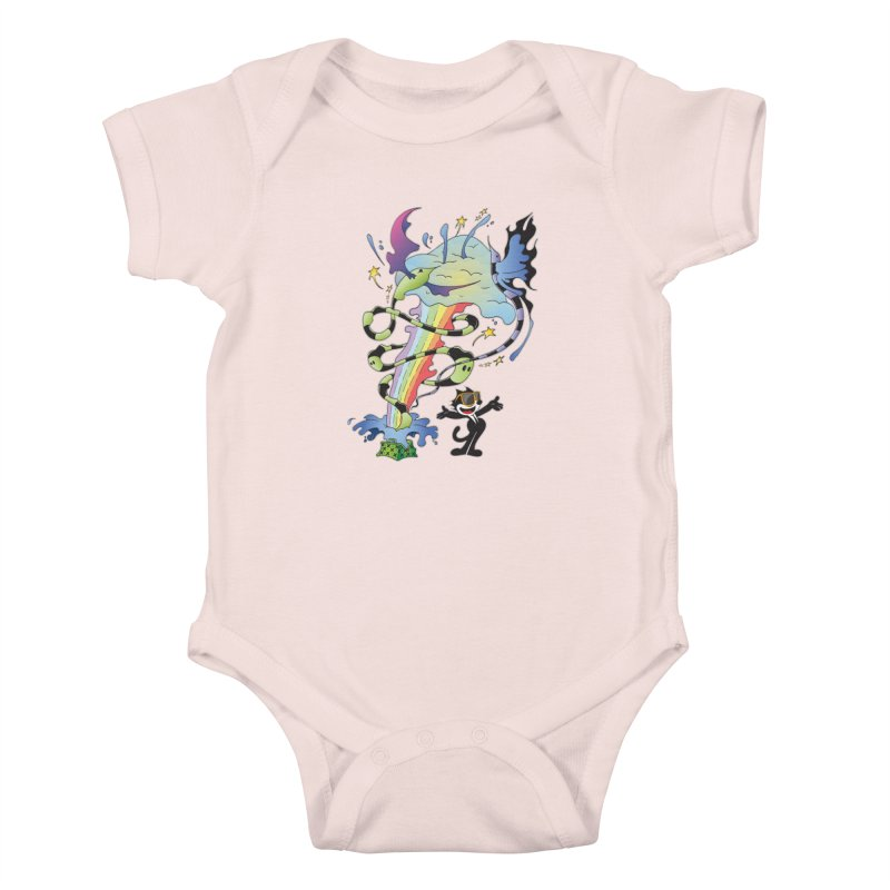Little Green Bag Kids Baby Bodysuit by punchofpaint's Artist Shop