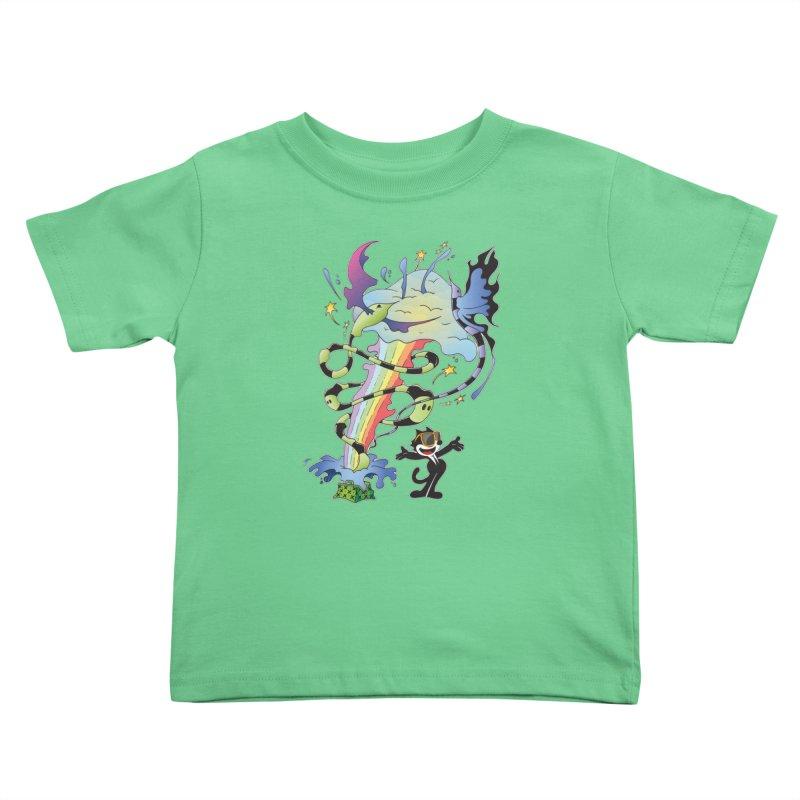 Little Green Bag Kids Toddler T-Shirt by punchofpaint's Artist Shop