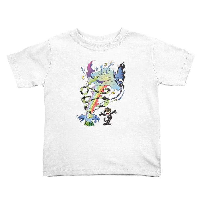 Little Green Bag Kids Toddler T-Shirt by punchofpaint's Artist Shop