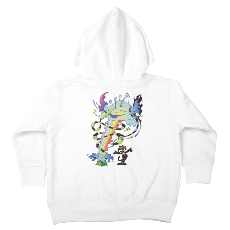Little Green Bag Kids Toddler Zip-Up Hoody by punchofpaint's Artist Shop