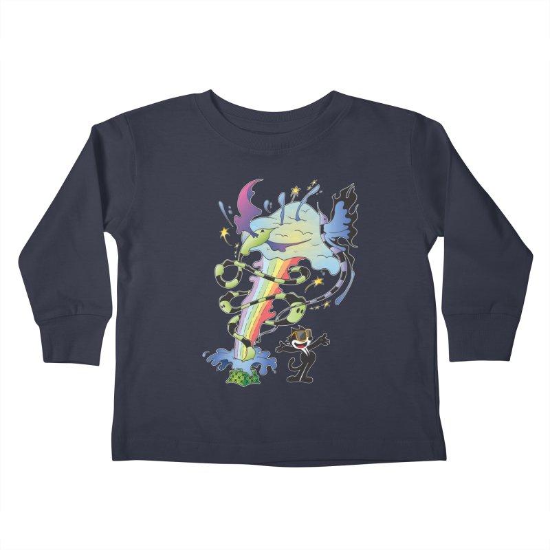 Little Green Bag Kids Toddler Longsleeve T-Shirt by punchofpaint's Artist Shop