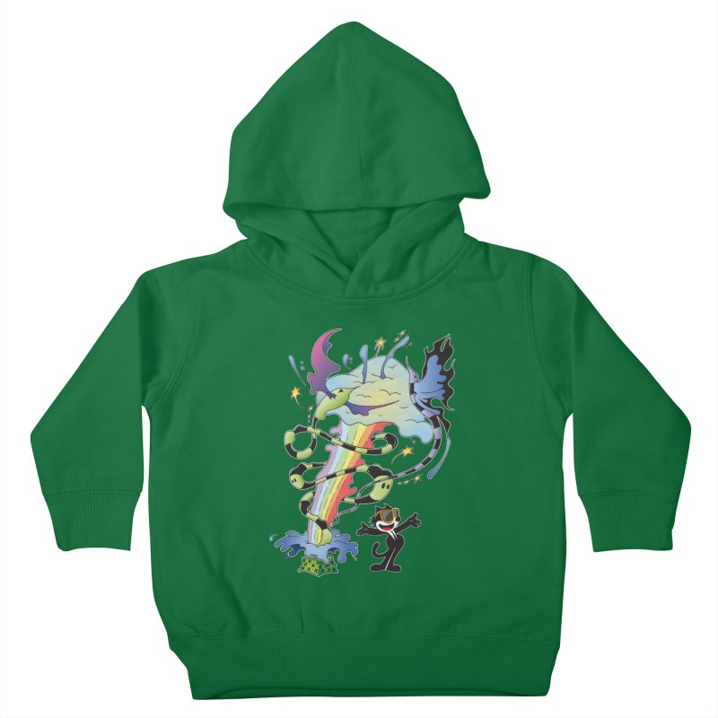 Little Green Bag Kids Toddler Pullover Hoody by punchofpaint's Artist Shop