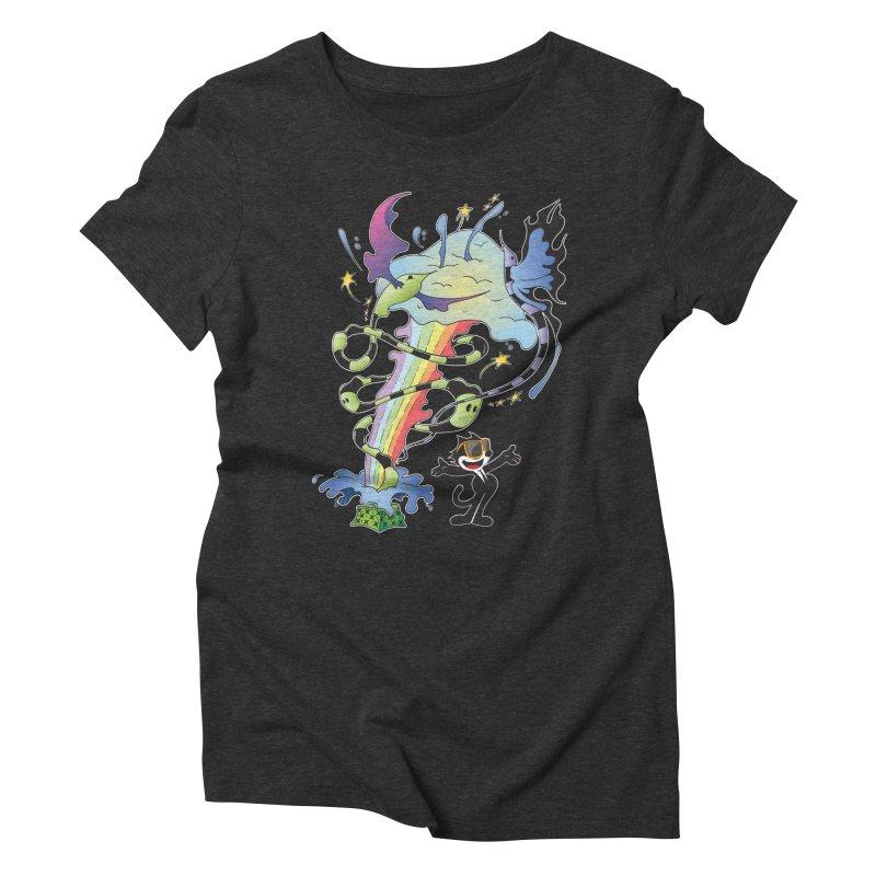 Little Green Bag Women's Triblend T-Shirt by punchofpaint's Artist Shop