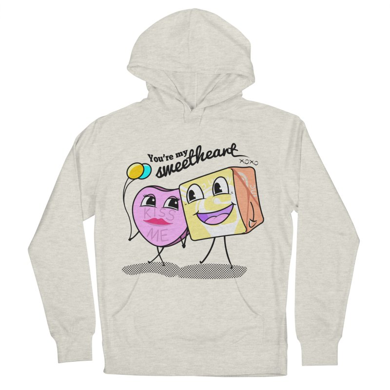 You're My Sweetheart Men's Pullover Hoody by punchofpaint's Artist Shop