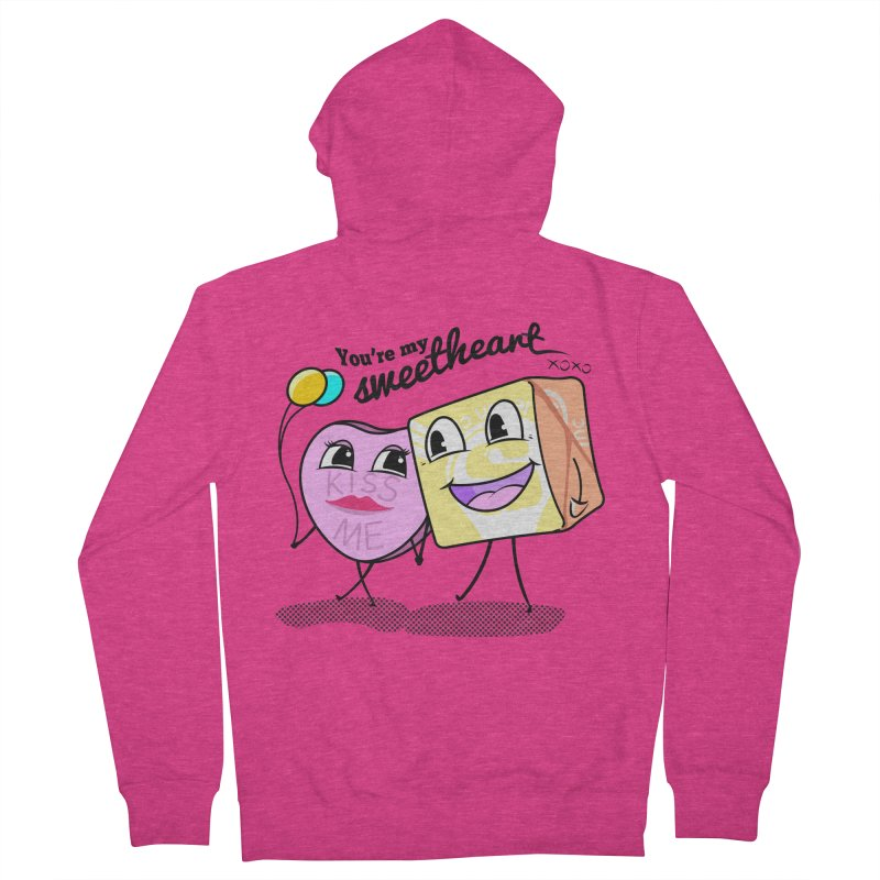 You're My Sweetheart Women's Zip-Up Hoody by punchofpaint's Artist Shop