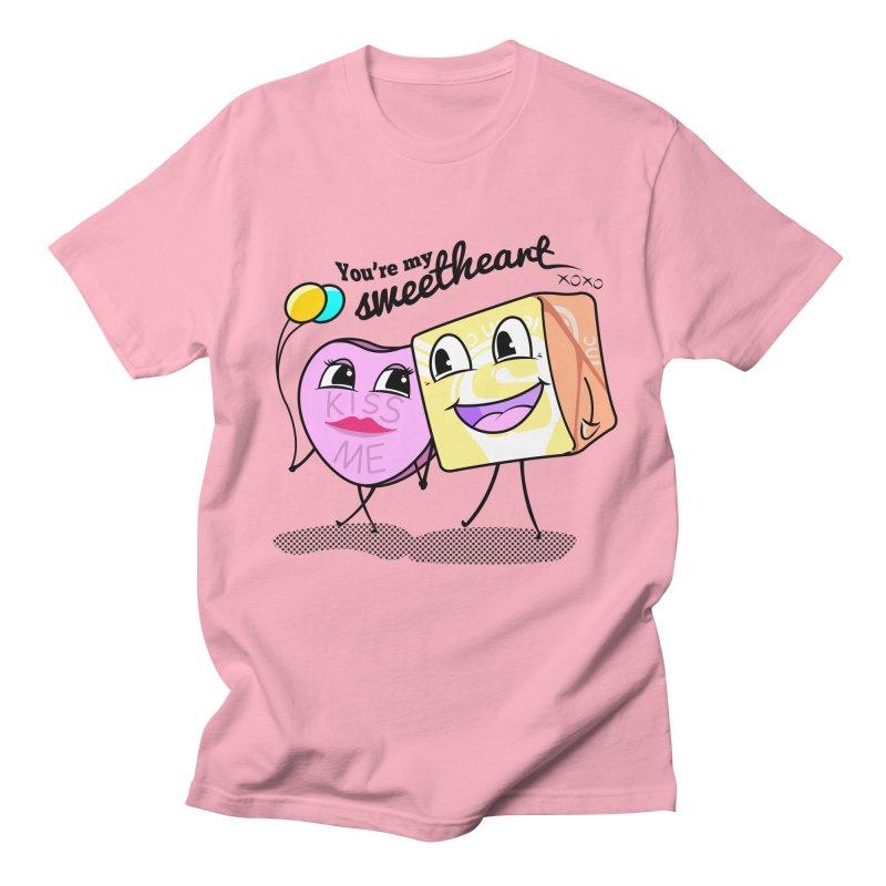 You're My Sweetheart Women's Unisex T-Shirt by punchofpaint's Artist Shop
