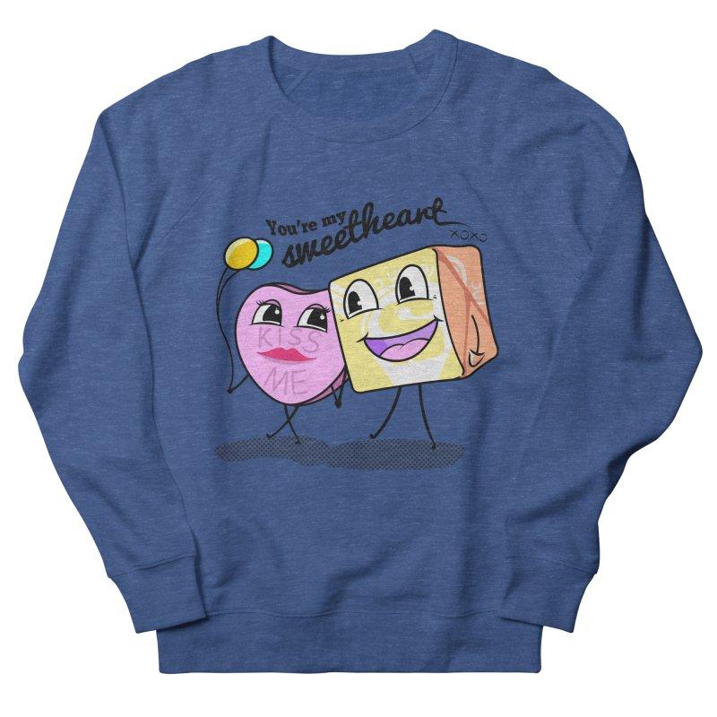 You're My Sweetheart Men's Sweatshirt by punchofpaint's Artist Shop