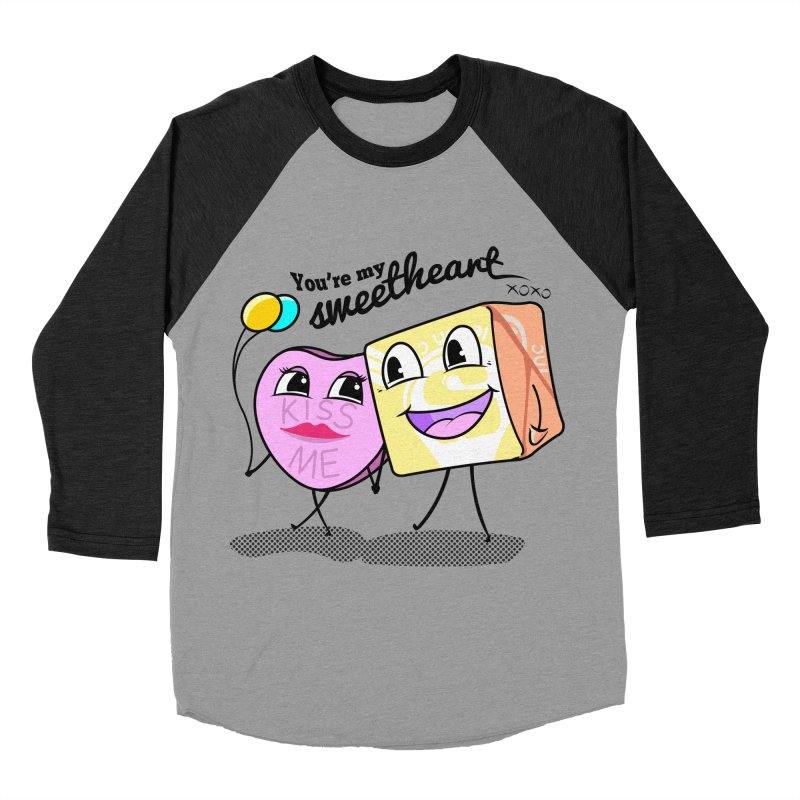 You're My Sweetheart Women's Baseball Triblend T-Shirt by punchofpaint's Artist Shop