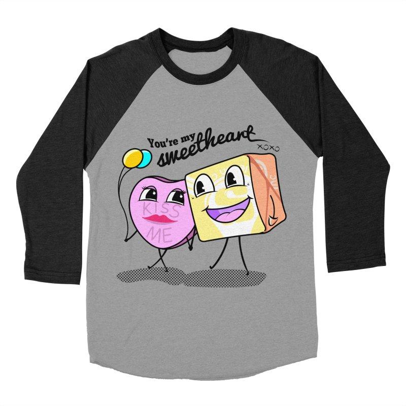 You're My Sweetheart Men's Baseball Triblend T-Shirt by punchofpaint's Artist Shop