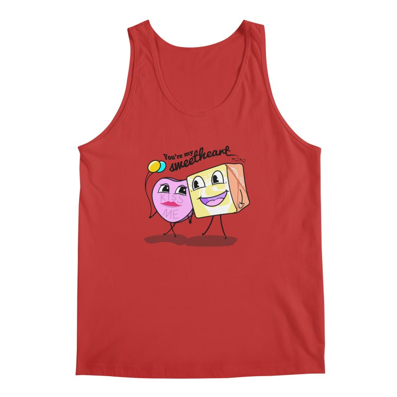 You're My Sweetheart Men's Tank by punchofpaint's Artist Shop