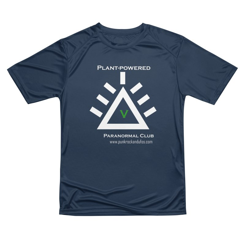 Plant-Powered Paranormal Club Men's Performance T-Shirt by punkrockandufos's Artist Shop