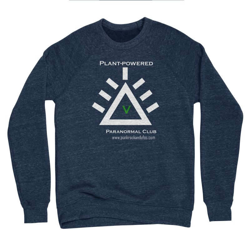 Plant-Powered Paranormal Club Men's Sponge Fleece Sweatshirt by punkrockandufos's Artist Shop
