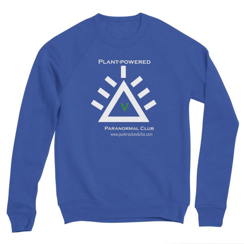 Plant-Powered Paranormal Club Women's Sponge Fleece Sweatshirt by punkrockandufos's Artist Shop
