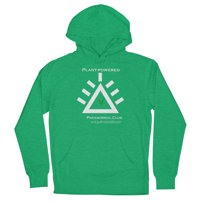 Plant-Powered Paranormal Club Women's French Terry Pullover Hoody by punkrockandufos's Artist Shop
