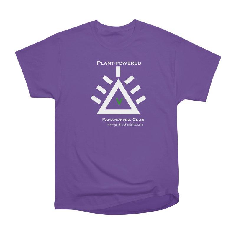Plant-Powered Paranormal Club Men's Heavyweight T-Shirt by punkrockandufos's Artist Shop