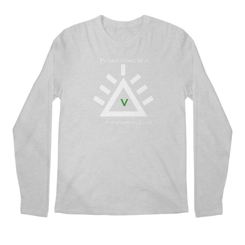 Plant-Powered Paranormal Club Men's Regular Longsleeve T-Shirt by punkrockandufos's Artist Shop