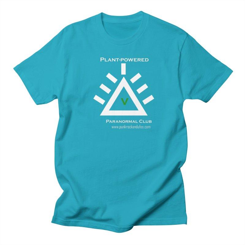Plant-Powered Paranormal Club Men's Regular T-Shirt by punkrockandufos's Artist Shop