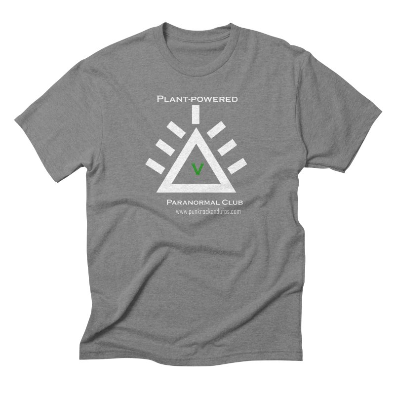 Plant-Powered Paranormal Club Men's Triblend T-Shirt by punkrockandufos's Artist Shop