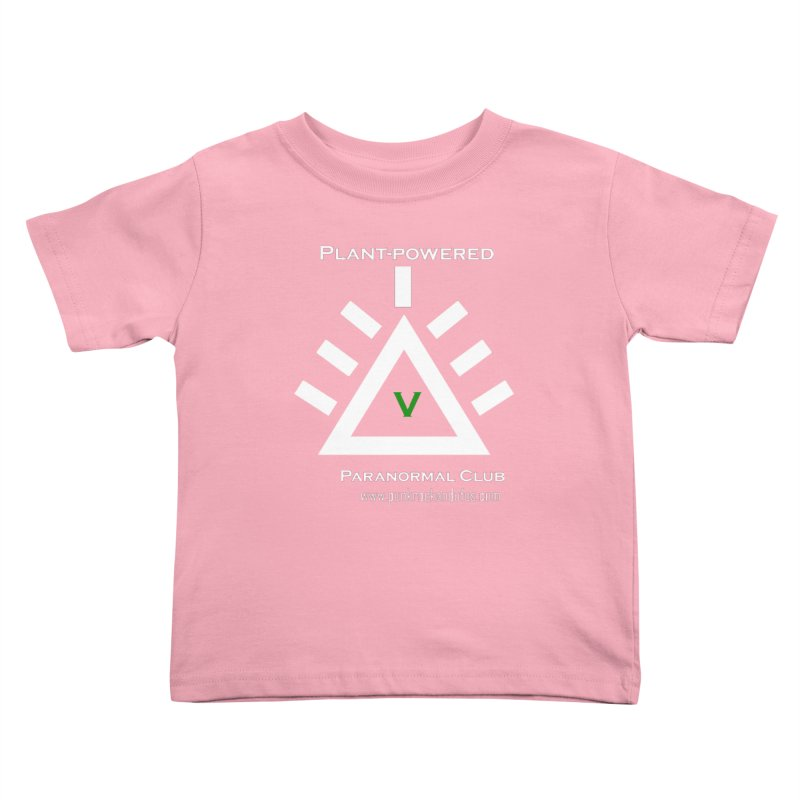 Plant-Powered Paranormal Club Kids Toddler T-Shirt by punkrockandufos's Artist Shop