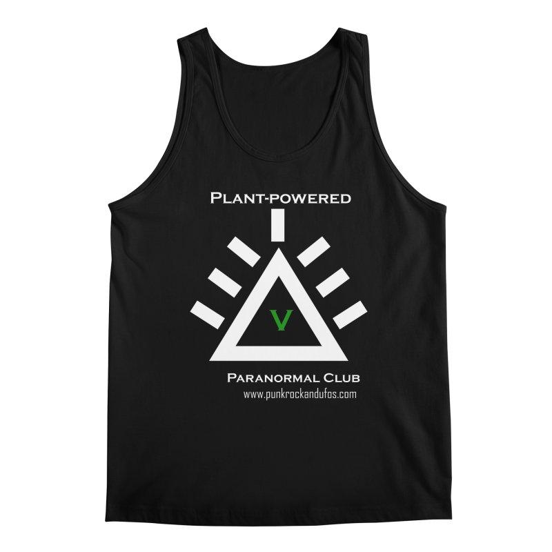 Plant-Powered Paranormal Club Men's Regular Tank by punkrockandufos's Artist Shop
