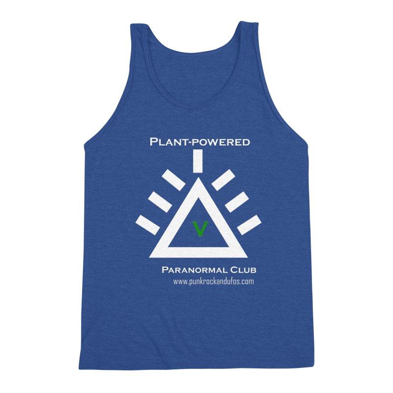 Plant-Powered Paranormal Club Men's Tank by punkrockandufos's Artist Shop