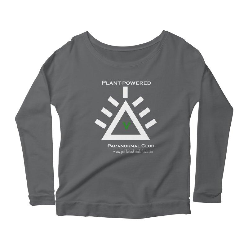 Plant-Powered Paranormal Club Women's Longsleeve T-Shirt by punkrockandufos's Artist Shop