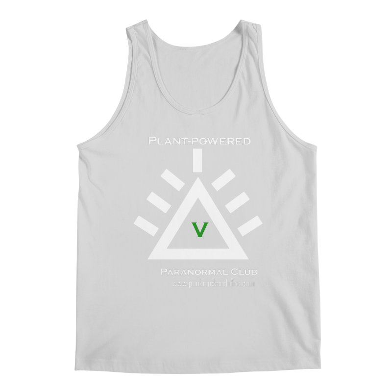 Plant-Powered Paranormal Club Men's Regular Tank by punkrockandufos's Artist Shop