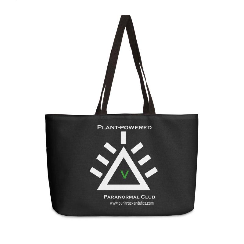 Plant-Powered Paranormal Club Accessories Bag by punkrockandufos's Artist Shop